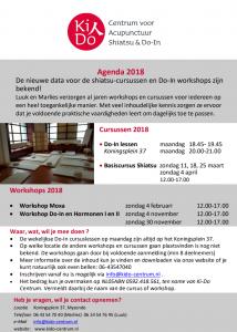 KIDO agenda 2018
